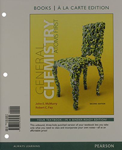 General Chemistry + Masteringchemistry With Etext Access Card: Atoms First, Books a La Carte ...