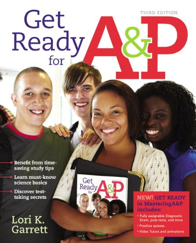 9780321813367: Get Ready for A&P (3rd Edition)