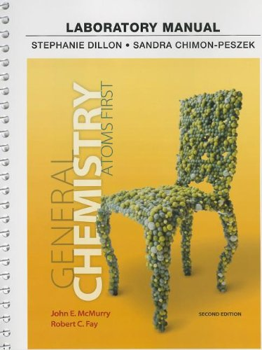 9780321813374: Laboratory Manual for General Chemistry: Atoms First, 2nd Edition