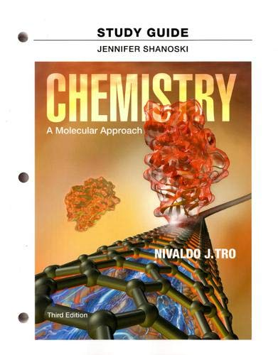 9780321813626: Study Guide for Chemistry: A Molecular Approach