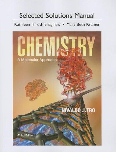 9780321813640: Chemistry: A Molecular Approach