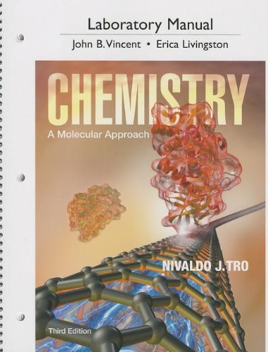 9780321813770: Laboratory Manual for Chemistry: A Molecular Approach (3rd Edition)