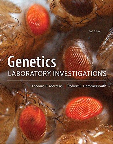 9780321814173: Genetics Laboratory Investigations (14th Edition)