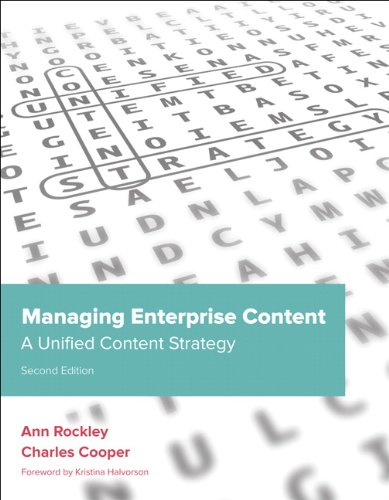 Managing Enterprise Content: A Unified Content Strategy 9780321815361 Smartphones, eBook readers, and tablet computers like the Apple iPad have forever changed the way people access and interact with conten