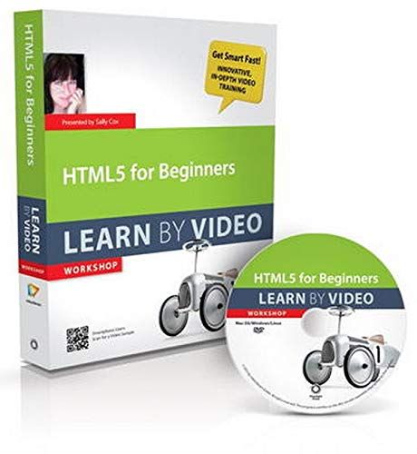 9780321815422: HTML5 for Beginners: Learn by Video Workshop
