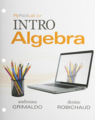 9780321816108: Worktext for MyLab Math for INTRO Algebra
