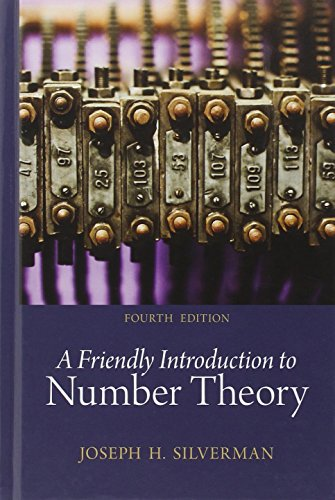 9780321816191: A Friendly Introduction to Number Theory (4th Edition)