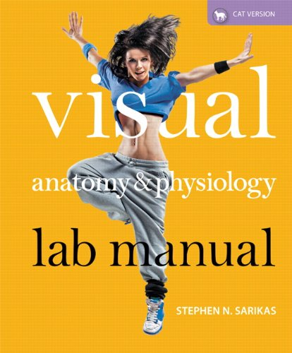 9780321817150: Visual Anatomy & Physiology Lab Manual, Cat Version Plus MasteringA&P with eText -- Access Card Package