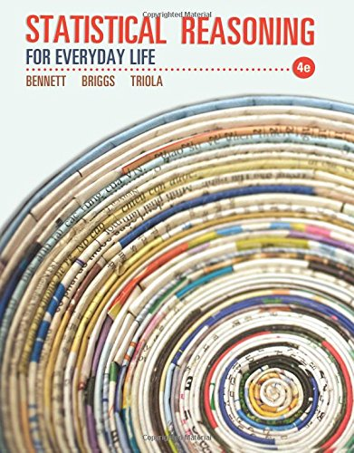 9780321817624: Statistical Reasoning for Everyday Life (4th Edition)