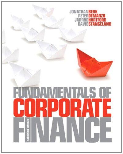 9780321818171: Fundamentals of Corporate Finance, Canadian Edition with MyFinanceLab