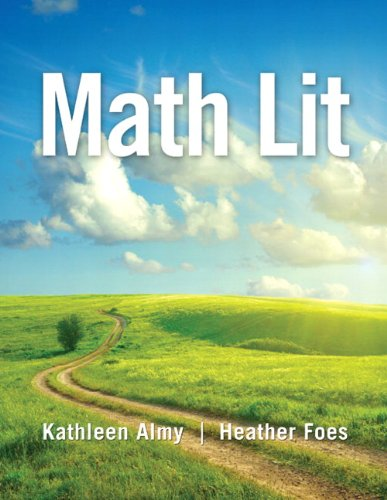 Math Lit: Almy, Kathleen; Foes,