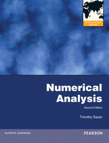 9780321818768: Numerical Analysis