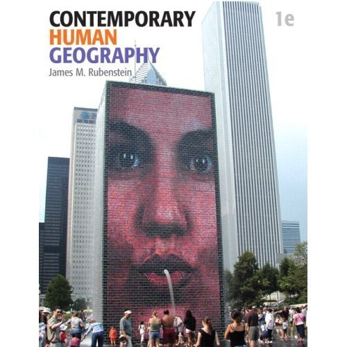 9780321819765: Contemporary Human Geography
