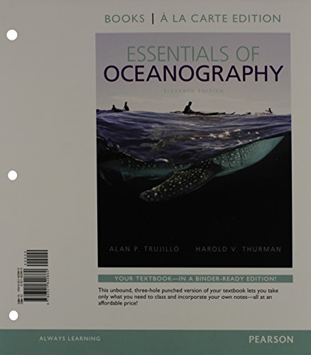 9780321820877: Essentials of Oceanography, Books a la Carte Plus MasteringOceanography with eText -- Access Card Package (11th Edition)