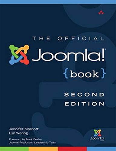 9780321821546: The Official Joomla! Book (2nd Edition) (Joomla! Press)