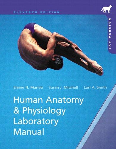 Human Anatomy & Physiology Laboratory Manual, Cat: Marieb, Elaine N.;