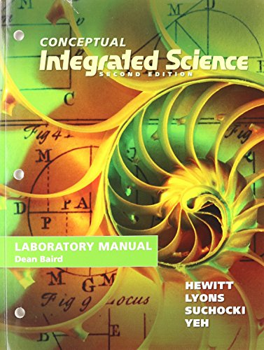 9780321822970: Lab Manual for Conceptual Integrated Science
