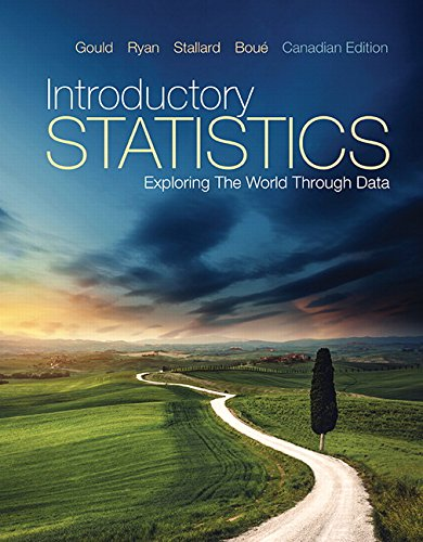 9780321823656: Introductory Statistics: Exploring the World Through Data, Canadian Edition,