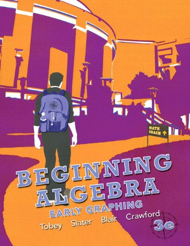 9780321824158: Beginning Algebra: Early Graphing plus NEW MyMathLab with Pearson eText -- Access Card Package