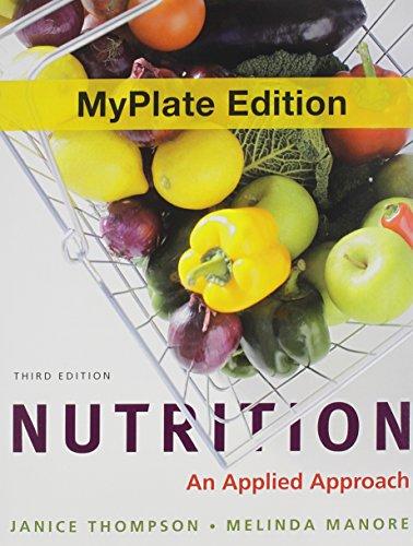 9780321824417: Nutrition: An Applied Approach, MyPlate Edition with MyDietAnalysis -- Access Card