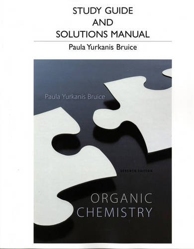 9780321826596: Study Guide and Student's Solutions Manual for Organic Chemistry