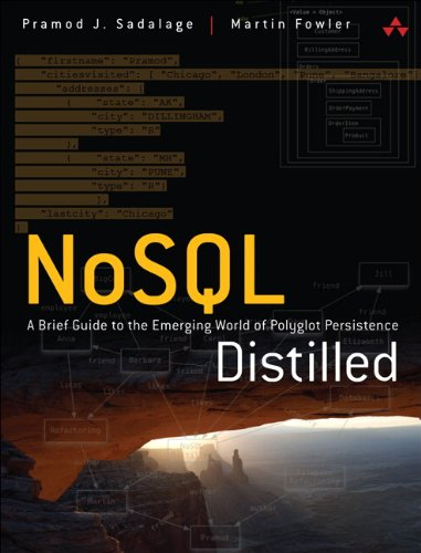 9780321826626: NoSQL Distilled: A Brief Guide to the Emerging World of Polyglot Persistence