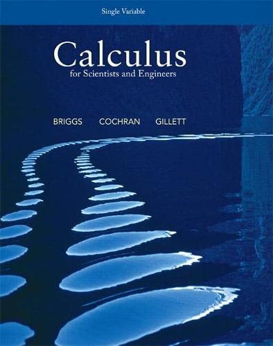 9780321826718: Calculus for Scientists and Engineers, Single Variable