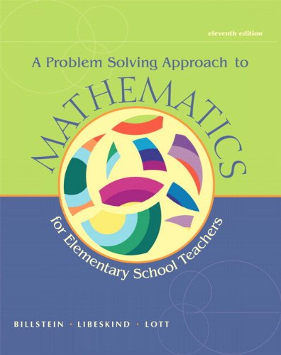 9780321828026: Problem Solving Approach to Mathematics for Elementary School Teachers, A,  Plus MyMathLab -- Access Card Package (11th Edition)