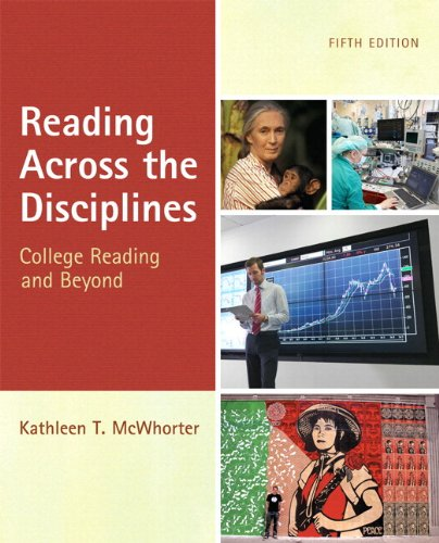 9780321829078: Reading Across the Disciplines with NEW MyReadingLab with eText -- Access Card Package (5th Edition)