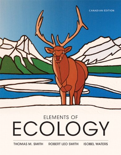 9780321829184: Elements of Ecology, First Canadian Edition with EcologyPlace
