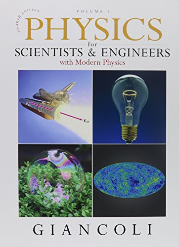 Physics for Scientists & Engineers, Vol. 1 and Vol. 2 and MasteringPhysics with E-book Student ...