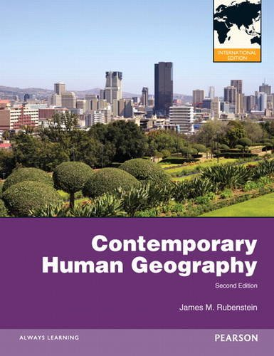 9780321831828: Contemporary Human Geography