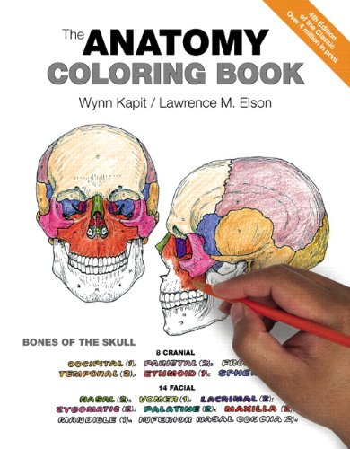 9780321832016: The Anatomy Coloring Book