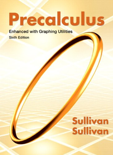 9780321832139: Precalculus Enhanced with Graphing Utilities Plus NEW MyMathLab with Pearson eText -- Access Card Package (6th Edition)