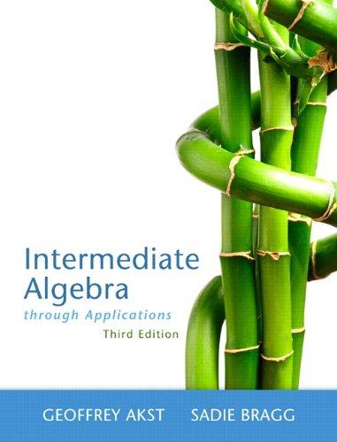 9780321832160: Intermediate Algebra Through Applications Plus NEW MyMathLab with Pearson eText -- Access Card Package (3rd Edition) (Askt Developmental Mathematics Series)