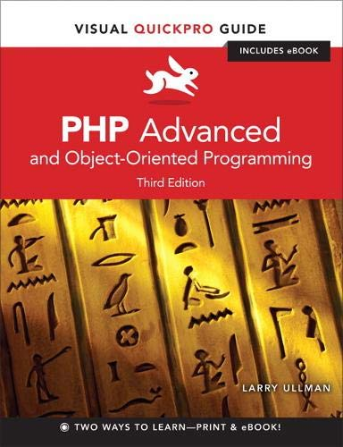 9780321832184: PHP Advanced and Object-Oriented Programming: Visual QuickPro Guide (Visual QuickPro Guides)