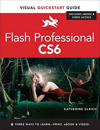 9780321832191: Flash Professional CS6: Visual QuickStart Guide
