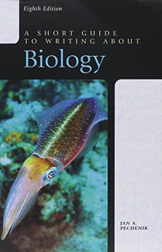 9780321833860: Short Guide to Writing About Biology, A (Valuepack Item Only) (8th Edition)