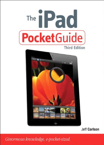 9780321834652: The iPad Pocket Guide (3rd Edition) (Peachpit Pocket Guide)