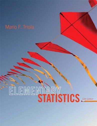 9780321836960: Elementary Statistics (12th Edition)