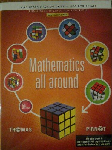 9780321837271: Mathematics All Around (Annotated Instructor Edition)