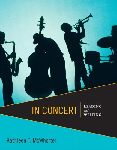 9780321838629: In Concert: Reading and Writing