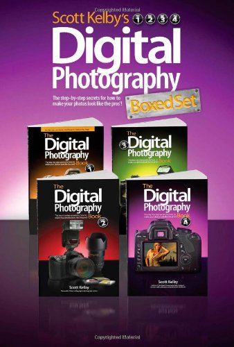 9780321839954: Scott Kelby's Digital Photography Boxed Set, Parts 1, 2, 3, and 4