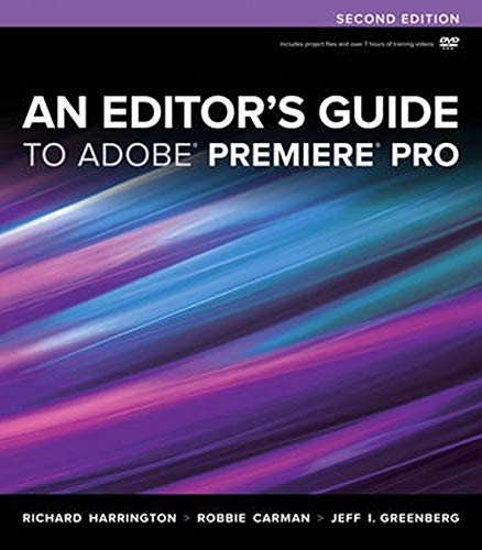 9780321840066: An Editor's Guide to Adobe Premiere Pro (2nd Edition)