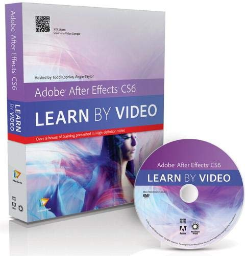9780321840387: Adobe After Effects CS6: Learn by Video