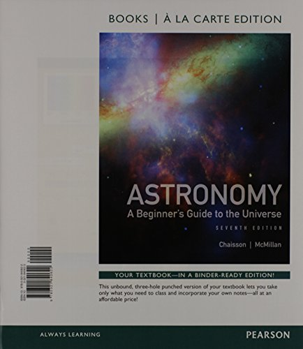 9780321840639: Astronomy: A Beginner's Guide to the Universe, Books a la Carte Plus MasteringAstronomy with eText -- Access Card Package (7th Edition)
