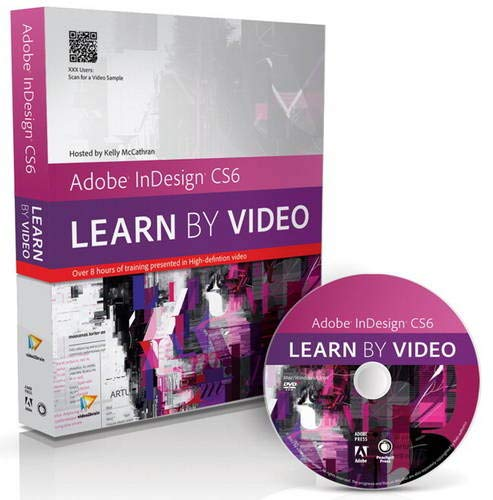 9780321840691: Adobe InDesign CS6: Learn by Video