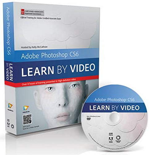 9780321840714: Adobe Photoshop CS6: Learn by Video: Core Training in Visual Communication