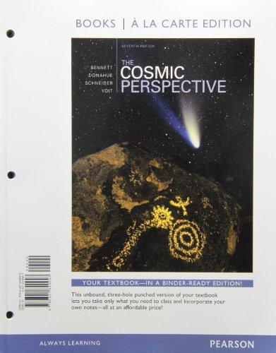 9780321840943: Cosmic Perspective, The, Books a la Carte Edition (7th Edition)