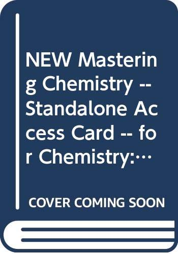 New MasteringChemistry -- Standalone Access Card -- for Chemistry: The Central Science (0321841298) by Brown, Theodore L.; LeMay, H. Eugene; Bursten, Bruce E.; Murphy, Catherine; Woodward, Patrick